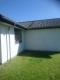 Hvid vandskuring af hus