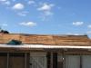 Udskiftning af gammel/slidt tagpap på kolonihavehus.